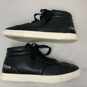 Feiyue Kung Fu Black High Top Martial Arts Shoes